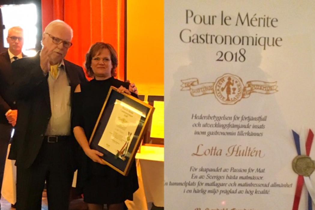 Gastronomisk utmärkelse