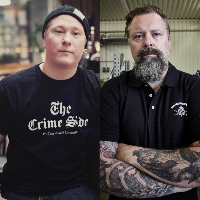 """Christoffer """"Coffe"""" Holmström och Peter Iwers"""