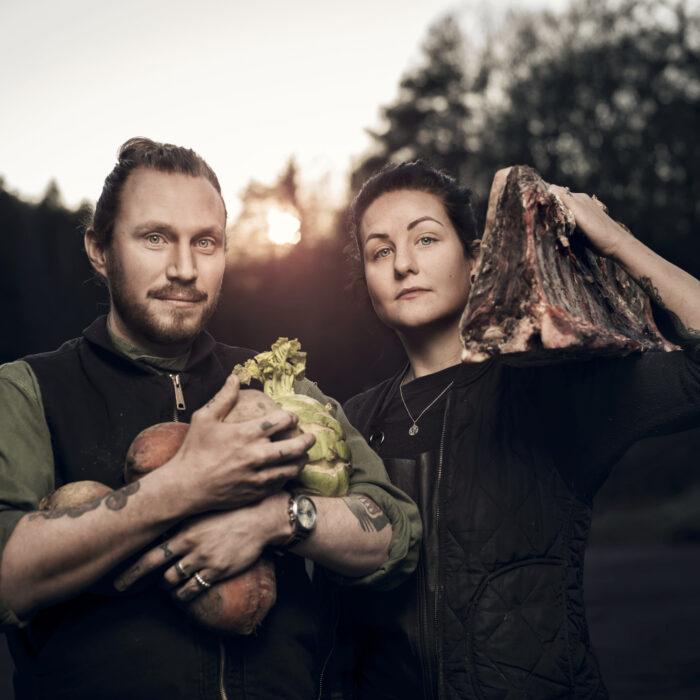 Jack och Bella Thorogood