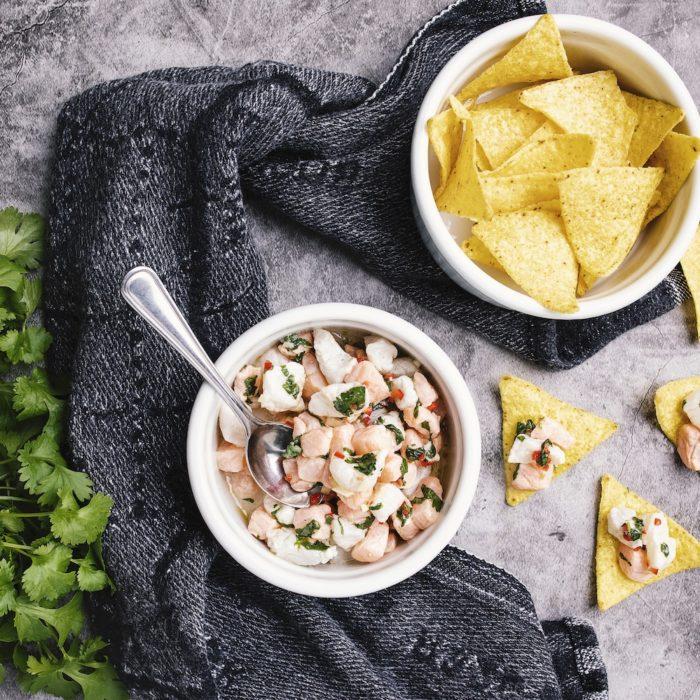 Fiskskolan: Ceviche – förrätt